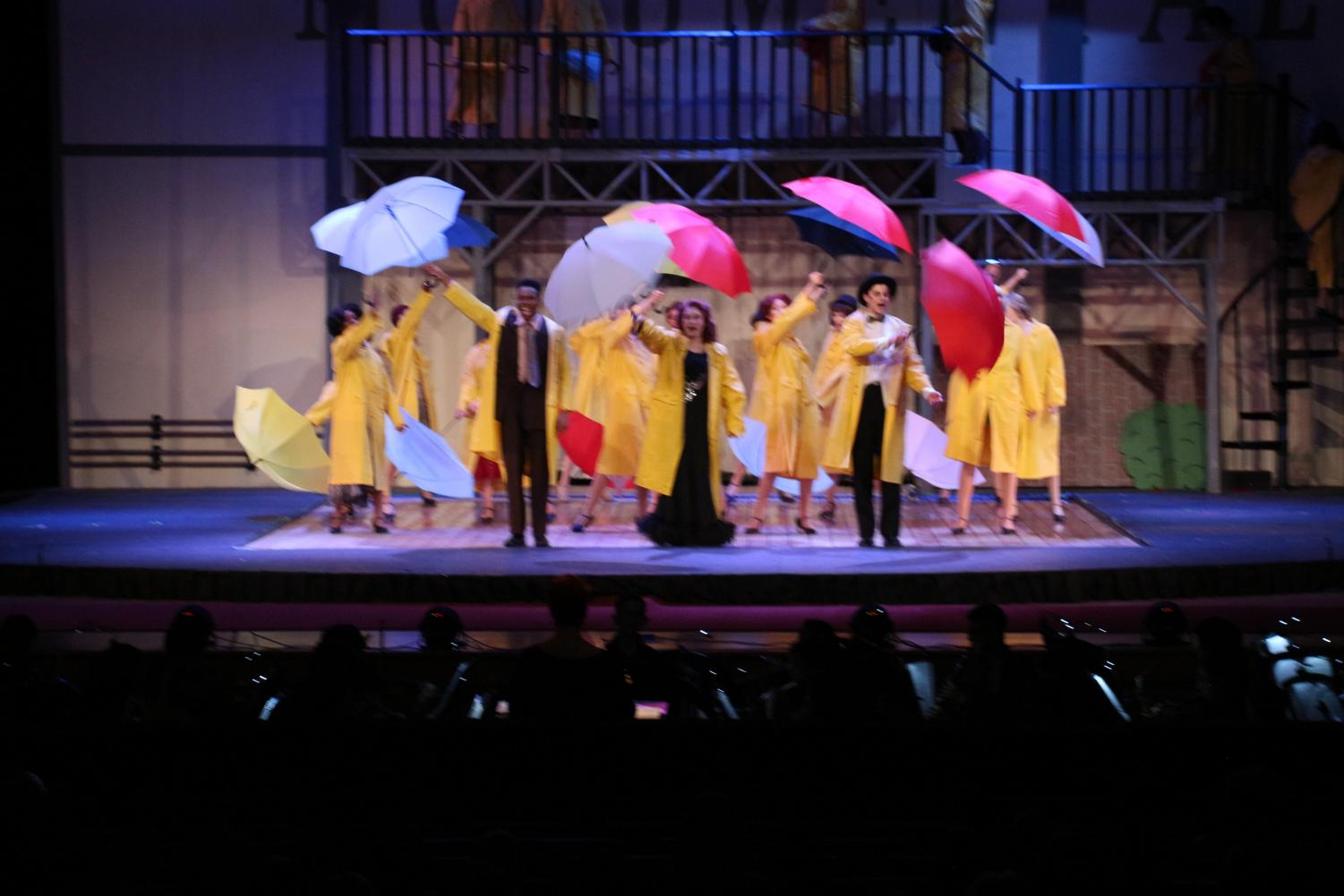 As the first performance of the year, theater kicked off with the musical Singing in the Rain on Thursday with showtimes until Sunday. Through the detailed scenery and graceful acting, Wingspan's Minuki Medis left the show in awe.