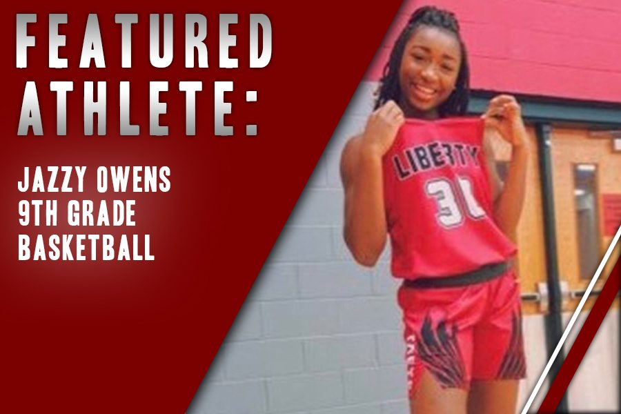 Freshman+Jazzy+Owens+claimed+her+spot+on+the+Redhawk+team+in+her+eleventh+year+playing+the+sport.