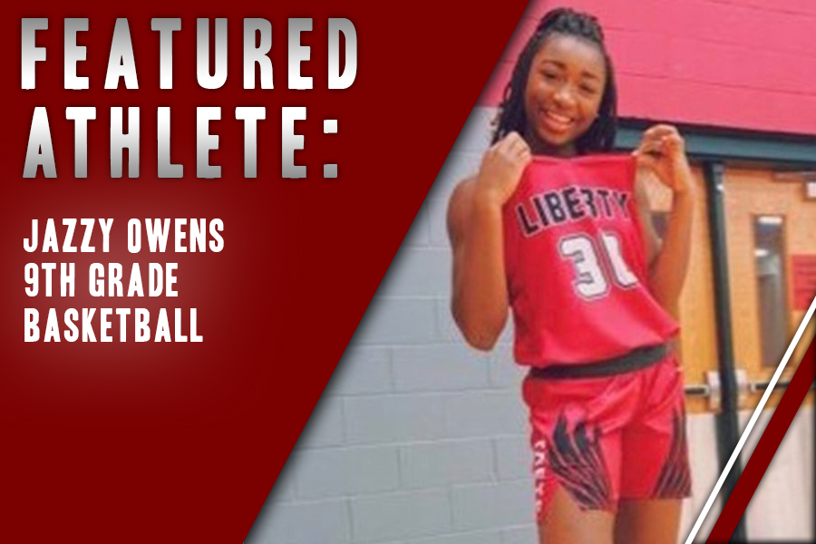 Freshman Jazzy Owens claimed her spot on the Redhawk team in her eleventh year playing the sport.