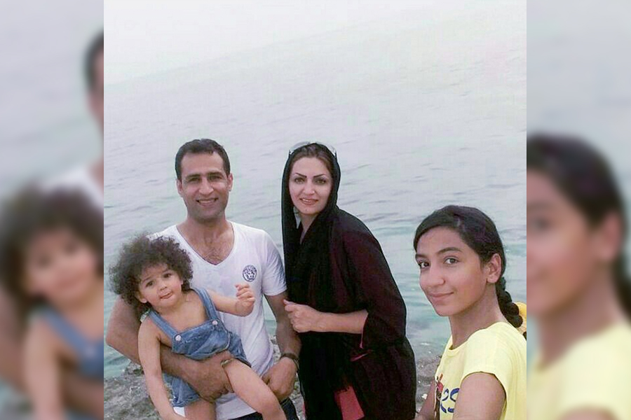 Posing on the beach in Iran, the Bordbar family is one of the winners of the American Lottery, which allows people to immigrate to the United States from Iran. Freshman Kimia Bordbar moved to the United States and is adapting to life in this country.