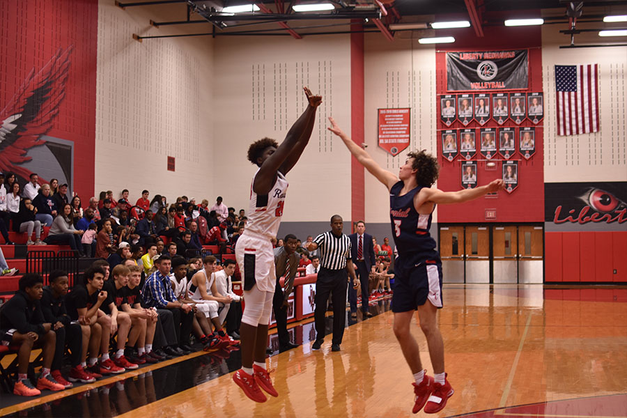 Boys' basketball put up a fight against the Kimball Knights on Friday losing 65-57. This marked the end of the boys' 2018-19 season.