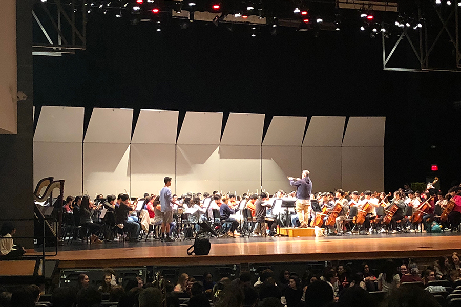 All four bands are competing in the UIL Concert & Sight  Reading Contest at Centennial High School starting today through Thursday. In the contest bands are judged on a rehearsed concert program and a sight reading portion that involves playing new music on the spot. For the remainder of the year, band will pursue more pop-culture type of music.