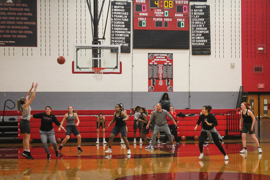 Kicking off their Thanksgiving break, girls basketball heads to Allen to participate in the Lady Eagle Hoopfest. With their the success from previous seasons, the team is looking to start the season off strong.