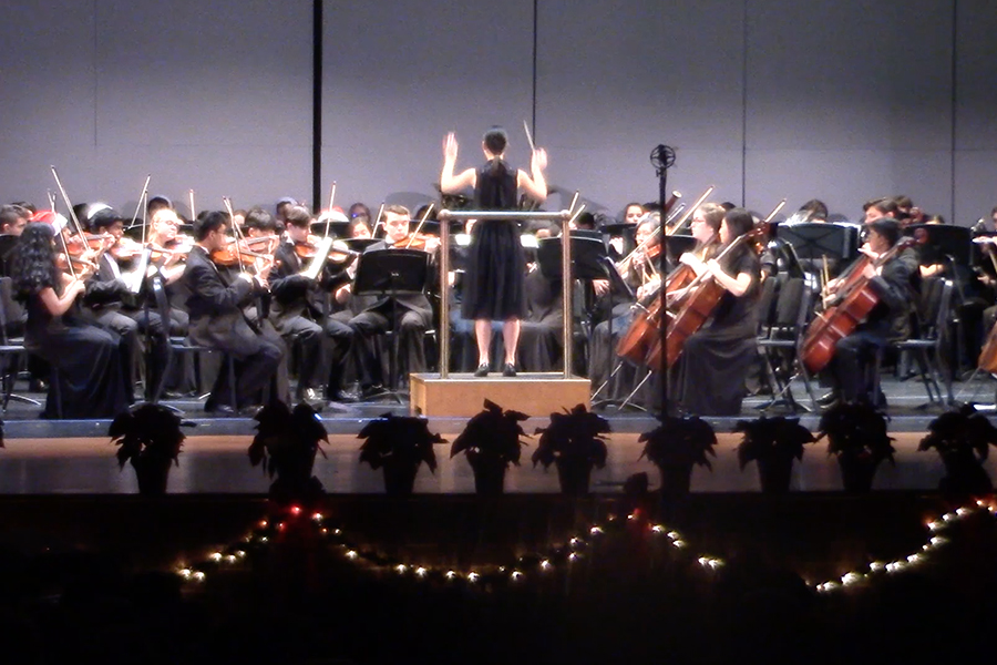 With the conclusion of the Winter Extravaganza, orchestra wraps up their fall semester with a social today after school.