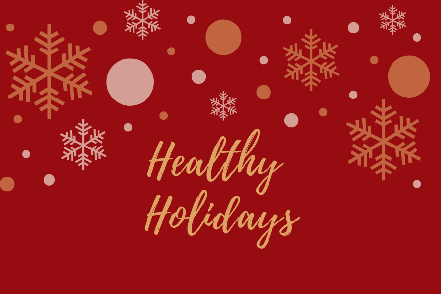 It can get difficult to stick to a health diet during the holiday season, but senior Katharina Santos has come up with a couple tips to make it easier.