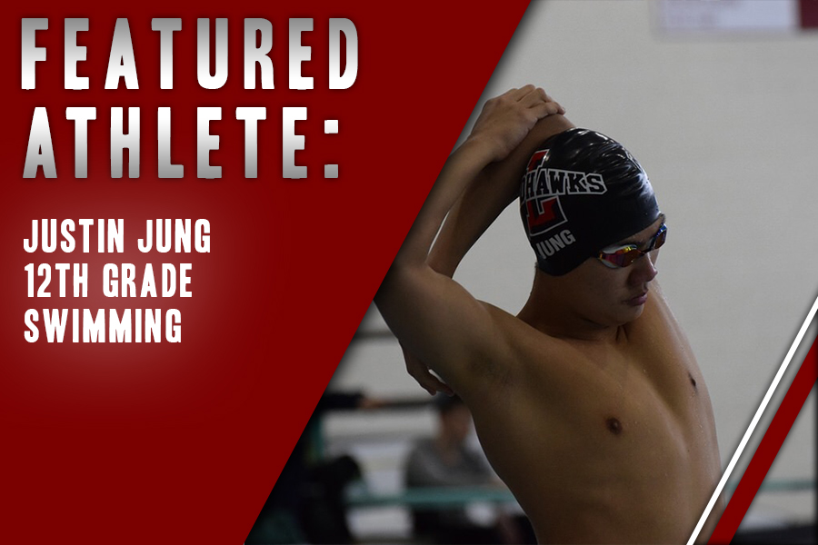 Having swam for eight years, senior Justin Jung continues to pursue his passion for the sport. He believes that his competitors fuel his drive to pursue his passion.