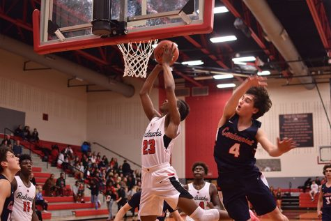 Wolverines ground Redhawks in first game of district play