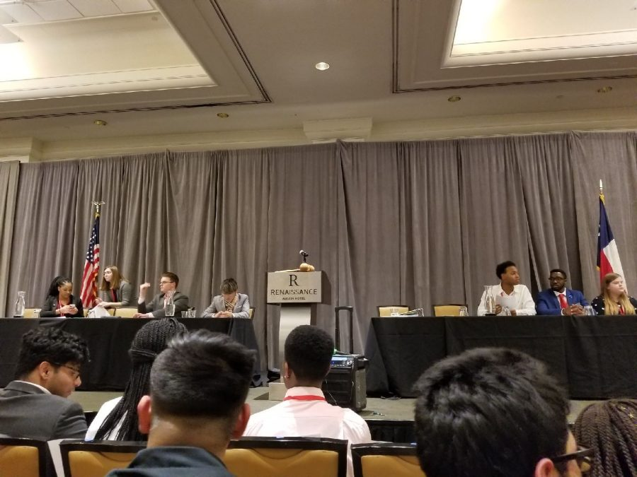 Day one of the Youth and Government kicks off in Austin, Texas. The opening ceremony featured Lieutenant Governor of the Texas Youth, Chris Tian from campus.