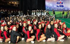 Cheer finishes near top of the pyramid at UIL