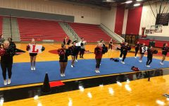 Cheer tumbles into competition