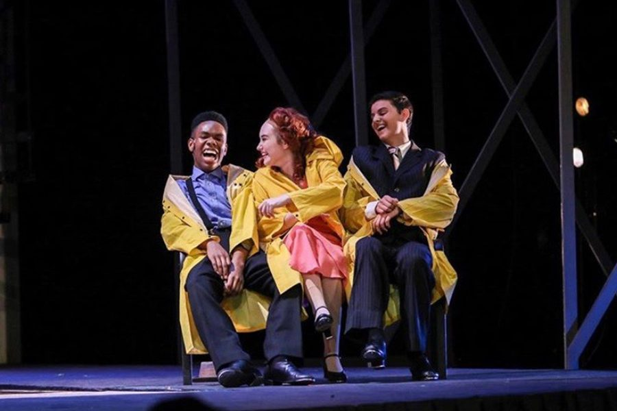 With 10 years of experience in theater, sophomore Donata Bova-Ford enjoys theater and believes it gives her confidence. Although she is only a sophomore, she was the lead in Singing in the Rain and finds a role in the school's theater.