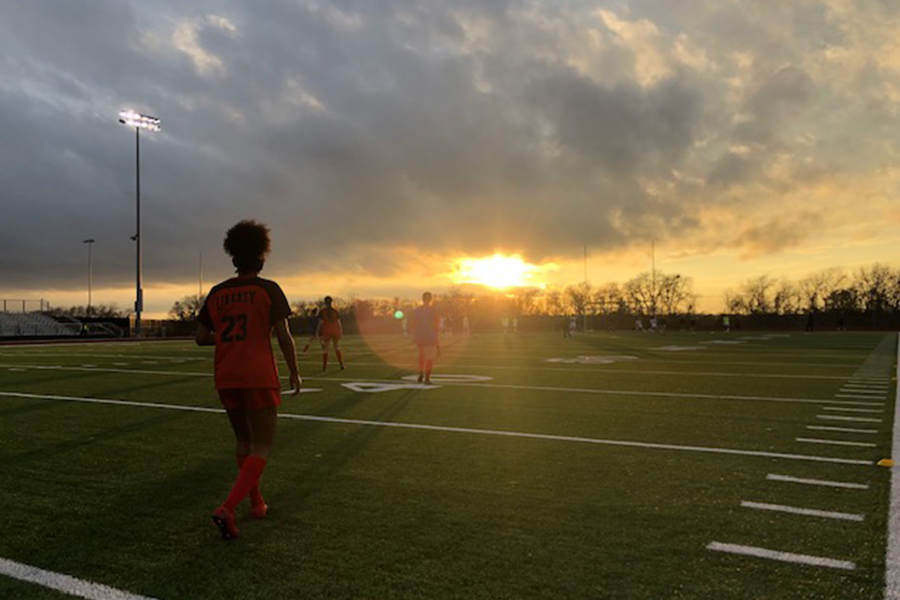 Due to thunderstorms Friday the girls' and boys' soccer game was rescheduled to Monday night against the Memorial Warriors with the girls starting at 7 p.m. and the boys at 7:30 p.m.