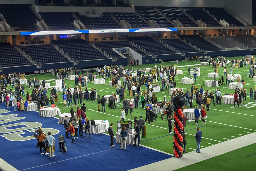 Featuring students from all across Frisco ISD, ISM students show off their research in their chosen field of study.
