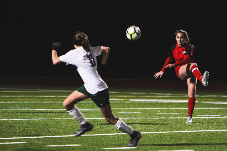 The Redhawks scored two wins on Friday against Independence. The boys won 5-0 and the girls won 4-2, carrying on their winning streak.