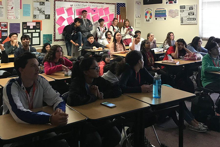 Senior George Rao hosted his first philosophy meeting on Thursday and Friday, Jan. 24 and 25, 2019. He hopes to continue these thought provoking forums throughout the year with these being the first of many.