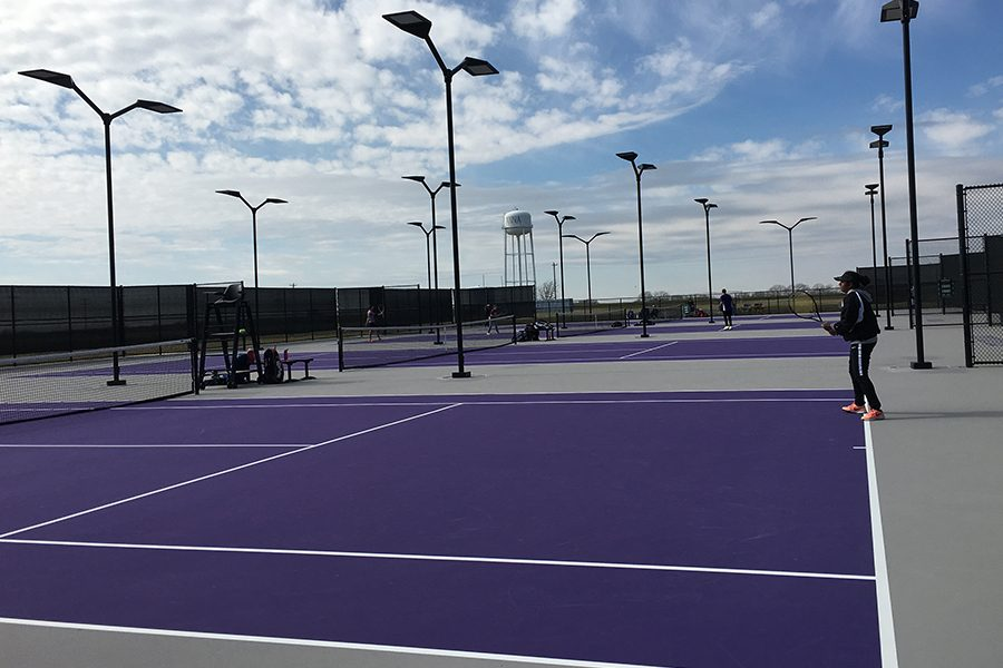 Tennis+played+for+the+opportunity+to+advance+to+Regionals+at+the+District+9-5A+tournament.+Both+junior+Sarvesh+Ramachandran+and+sophomore+Yatin+Pokle+will+move+on+to+Regionals+at+Allen+High+School+on+April+17%2C+2019.