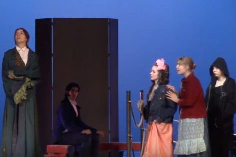 Theater performs UIL one act play at Wakeland