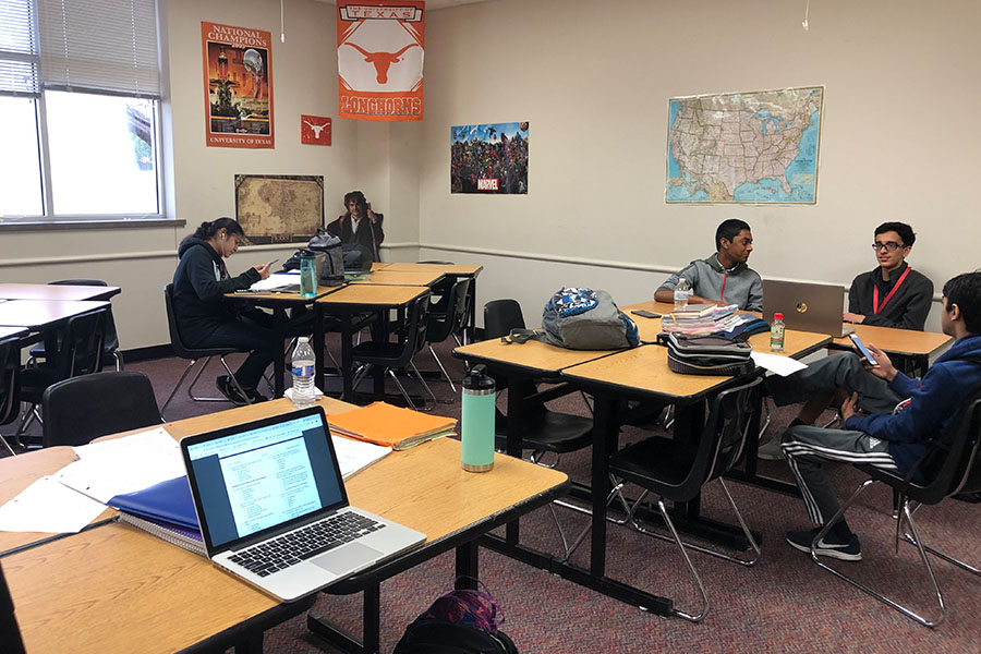 Academic Decathlon students will be competing all day tomorrow and saturday. Students will be testing in 10 events.