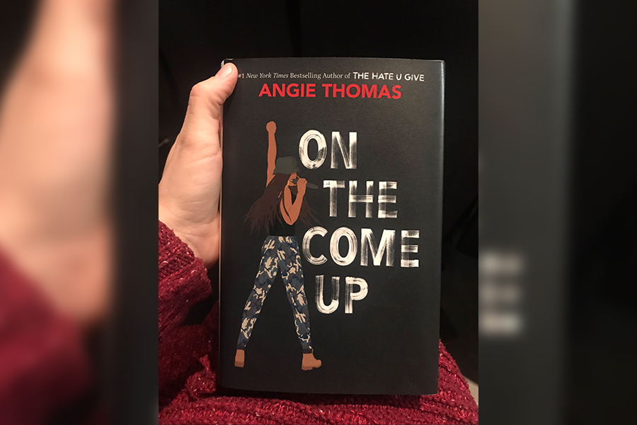 Promoting her book, On the Come Up, Angie Thomas visited Independence High School on Thursday, Feb. 14, 2019. Answering fan questions and talking to book lover Rose Brock who has dedicating her career to getting teens interested in books, Thomas continues to spread the word about her book and its message.