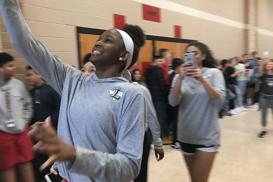 Senior Randi Thompson sent the girls' basketball game to overtime and, now, she is heading to state in San Antonio with the team.