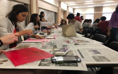 Valentine's Day art brings a little love to campus
