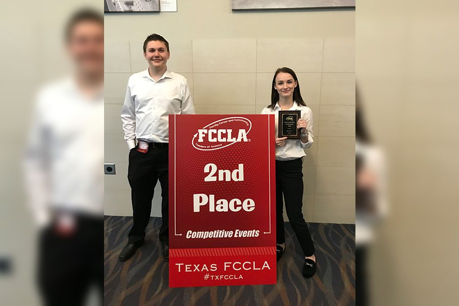 5 FCCLA students on campus have advanced to state-level competition, and have the ability to partake in a conference held in downtown Dallas this Thursday through Saturday.