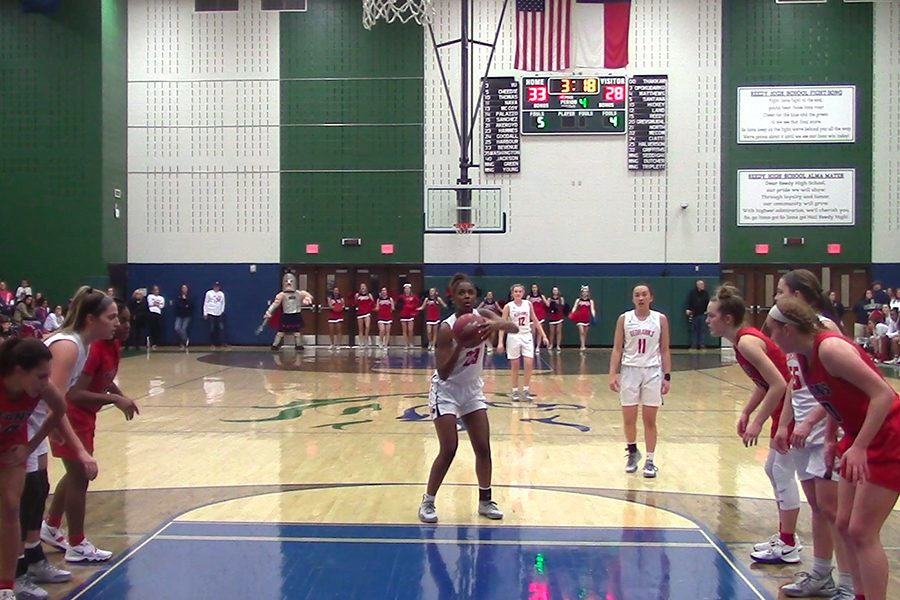Getting one step closer to playing in San Antonio, the girls' team beat District 9-5A rival Centennial 42-32 at Reedy on Tuesday night. The boys also came out victorious with a 74-58 win against the Princeton Panthers at McKinney Boyd.