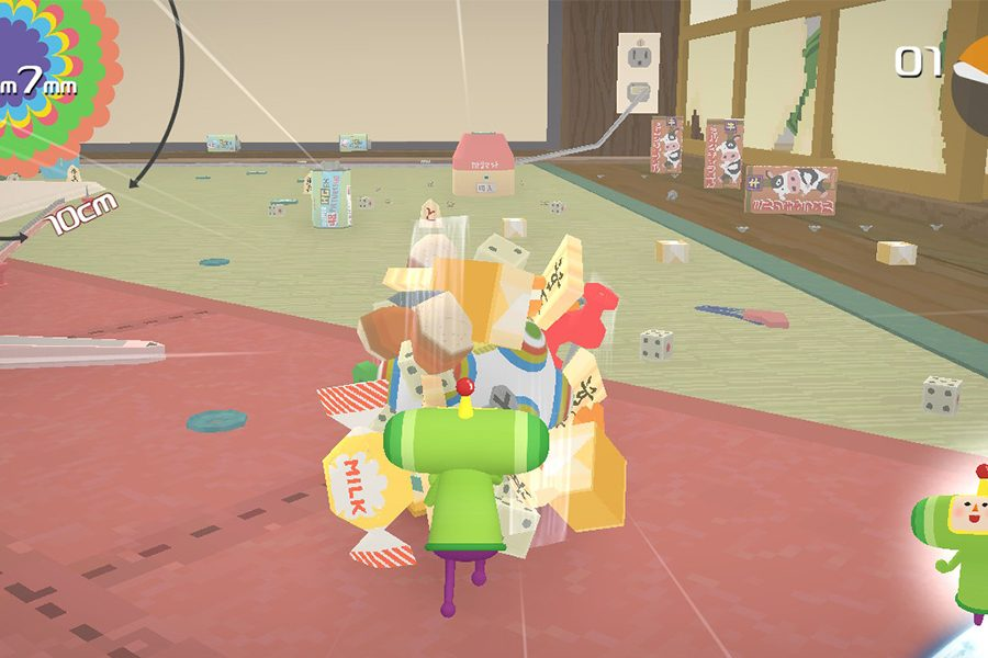 A+fully+fledged+Katamari+game+is+on+the+market+for+the+Nintendo+Switch.+The+game+follows+the+Prince+of+All+Creation+as+he+rolls+up+items+in+his+Katamari+and+allows+players+to+roll+up+the+items+and+shoot+them+into+space.
