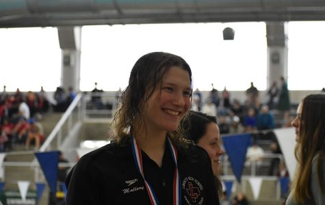 Showalter shines as several Redhawks swim to state