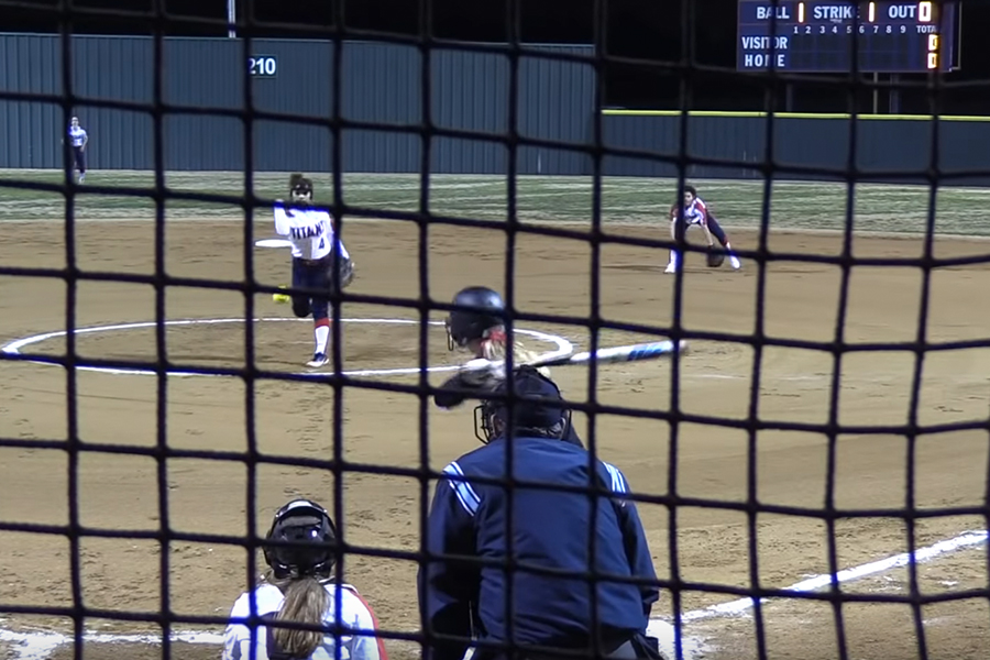 Taking on the Centennial Titans Tuesday night, the softball team fell in a hole early before losing the District 9-5A game 10-0. Despite this rough start, the team still looks to make it to play offs.