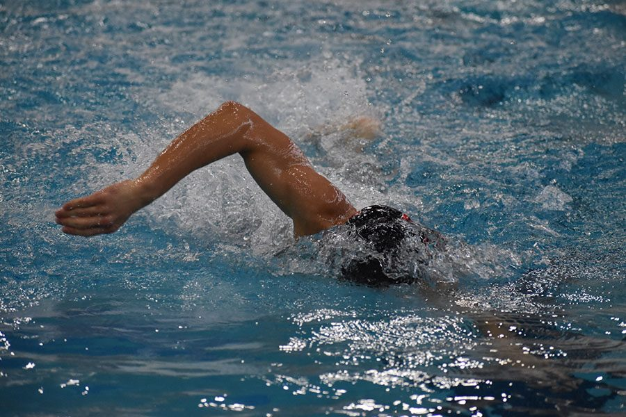 Along with all of the other sports, swim is having to make changes to their practices. Including social distancing and increased cleaning measures.