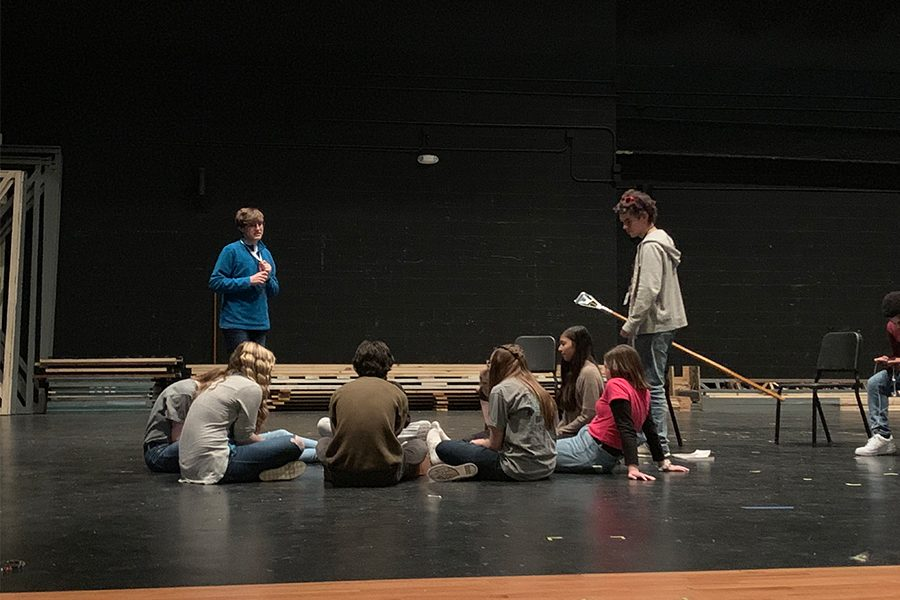 Tech Theatre students are getting the opportunity to lead productions by learning to make prompt books, write cues, take attendance, note blocking and the many more duties of a stage manager.