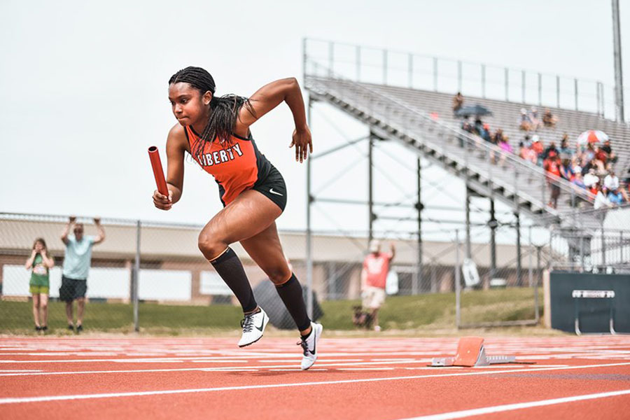 As the first track meet of the 2019 season, Redhawks gear up to take on Mckinney North and Prosper on Thursday, Feb. 7, 2019.
