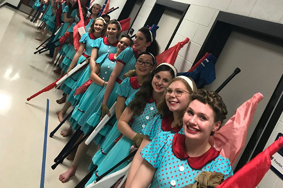 Winter+Guard+will+conclude+their+season+with+their+final+performance+on+Sunday+at+the+NCTA+Championships+at+Flower+Mound+High+School.+Sunday%27s+competition+comes+as+Winter+Guard+was+reclassified+to+the+national+level.