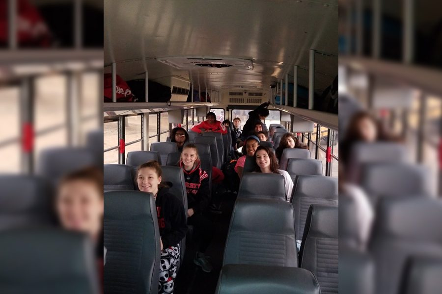 Making the five hour drive by school bus to Cypress for the state wrestling team, 10 Redhawks are going for state championships Friday and Saturday. Both the boys and girls teams are each sending five wrestlers with the girls entering the weekend as the regional champions and the boys team coming off a 6th place finish at the regional meet.