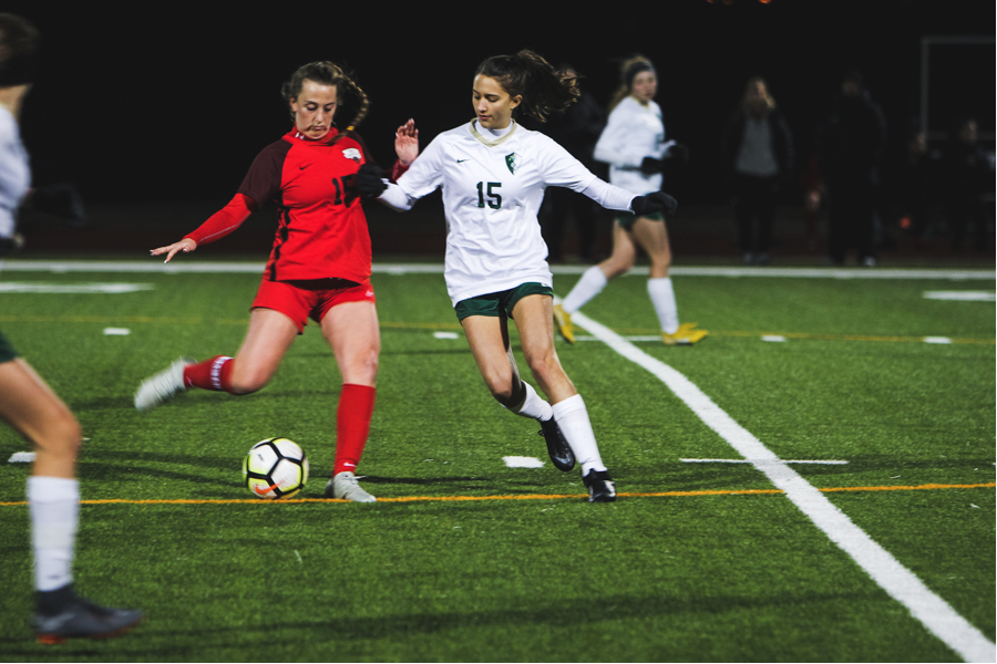 The girls' soccer team is seeking to solidify its' playoff spot as they take on the Independence Knights at Toyota Stadium Friday at 5:30 p.m with the boys' team to immediately follow. While the boys' team is out of playoff contention, the girls' enter Friday's game in 4th place with only four teams from District 9-5A making the playoffs.