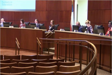 School board talks budget and honors students