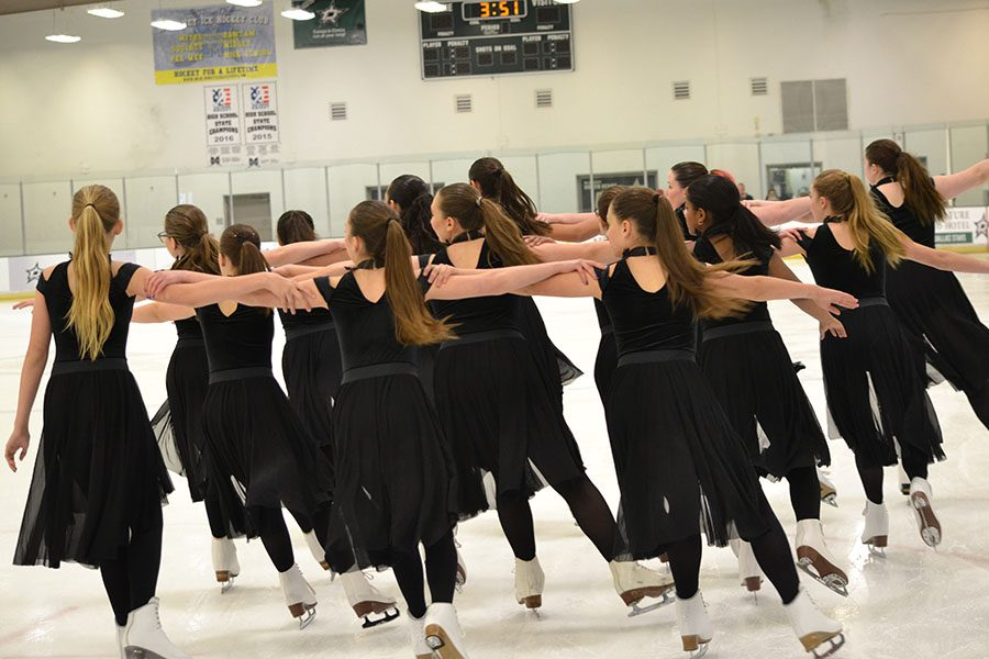"As part of the Texas All Stars synchronized ice skating team, sophomore Athena Tseng, and freshman Karina Grokhovskaya, are gearing up for their national competition Saturday and Sunday in Orlando, Fl.  ""I think it will just be about the experience and getting to travel with your team,"" Tseng said. ""It won't really matter if we win or lose because we will still have had a great opportunity."""