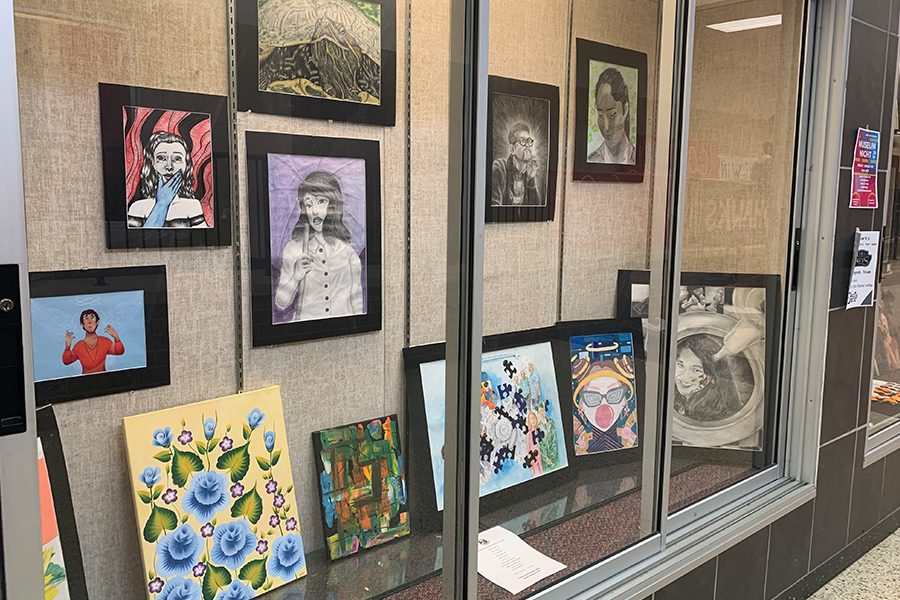 The National Art Honor Society will be putting on a Museum Night on Friday from 5:30 p.m. to 8:30 p.m. for students to show off their artwork. Admission is free but students have the chance to buy jewelry and other things to raise money for the fundraiser.