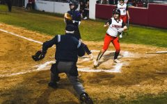 Trailblazers ground Redhawks in softball