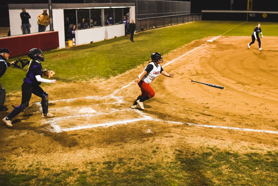 The Redhawks softball team continuing working towards their first district win, as they fell short to the Lions 16-1. The team is using this game as a learning experience to help them advance in future games.