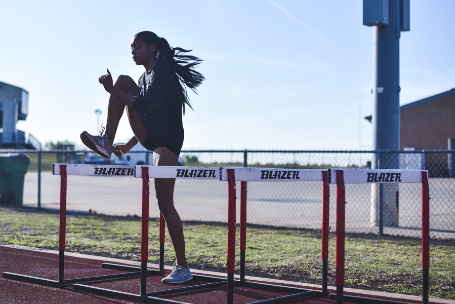 After two meets getting canceled the Redhawks had their first track meet. All of extra time the athletes had to train payed off as they had ten top three finishers.