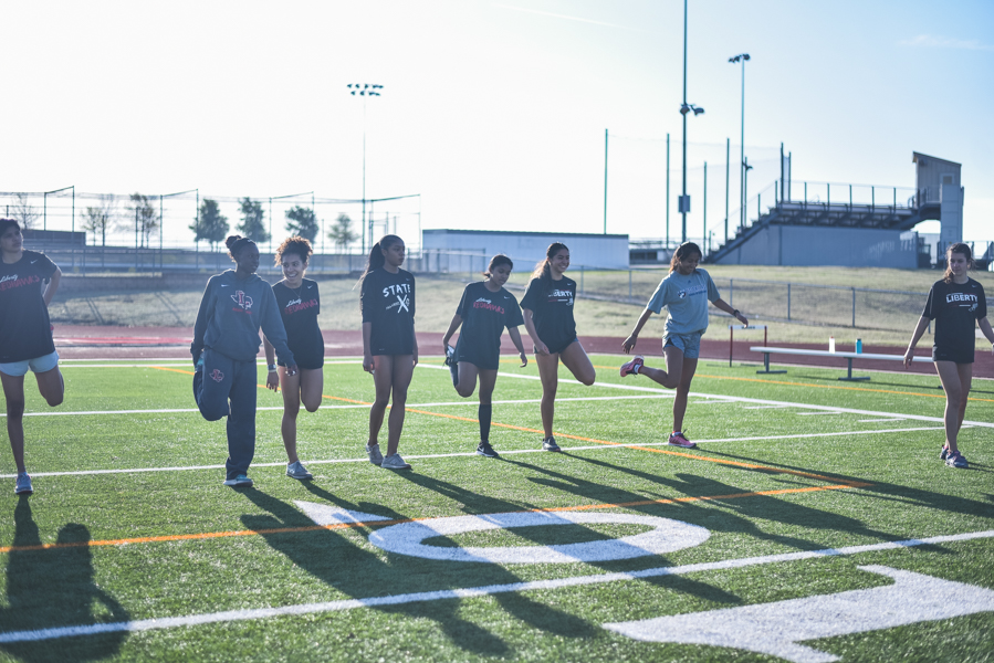 As the track season continues, the team looks to improve each in their individual events.
