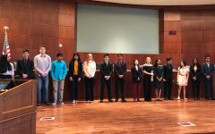 National Merit Semifinalists recognized by school board
