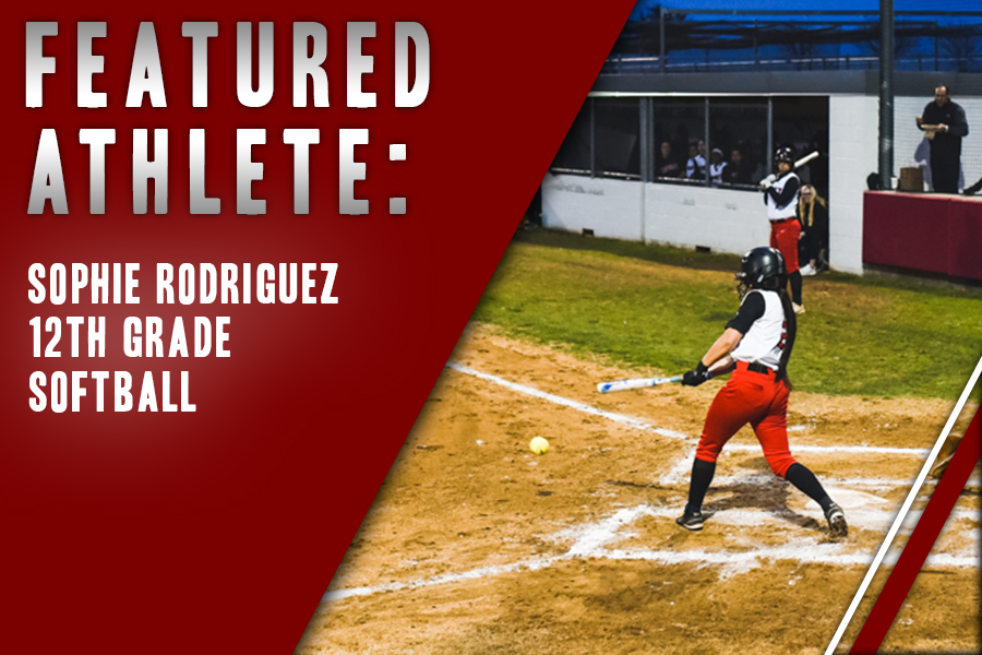 After years of playing volleyball, senior Sophie Rodriguez decided to take a swing at softball and join the Redhawk softball team. Upon joining the team, she has found her place and made many memories and friends through the sport.