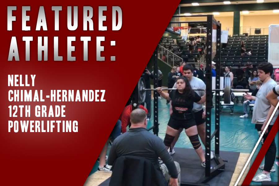 Despite the difficulty of getting the technique down, senior Nelly Chimal-Hernandez enjoys competing in powerlifting with her friends and teammates.