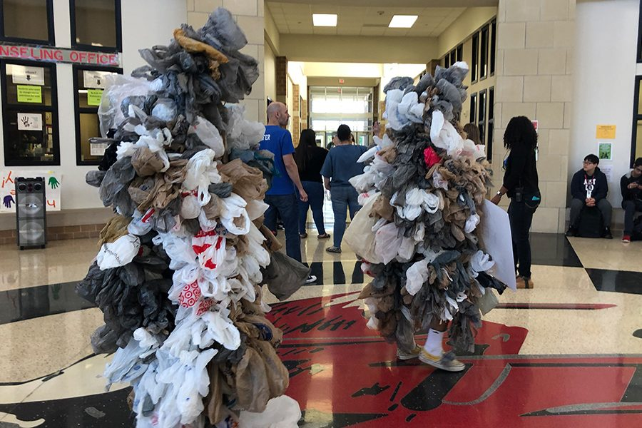 """""""I believe it is such a big issue that people in Frisco need to hear about because so many people do not realize the damage that plastic does to the environment,"""" AP Environmental Science teacher Jamie Berendt said."""