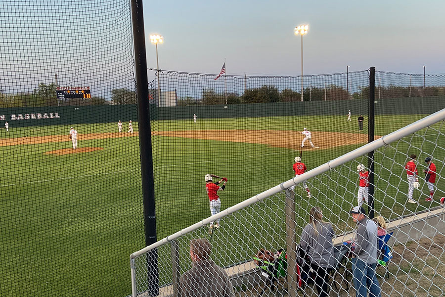 Closing out the season, baseball played their last district game against the Heritage Coyotes. However, the Redhawks fell to the Coyotes 1-0 on Friday, May 10, 2019.