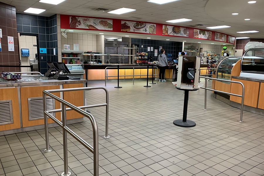 The cafeteria will be open on Thursday morning to give students taking the STAAR test. This allows students who did not eat breakfast the chance to eat before testing.