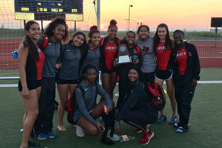 After+finishing+in+second+place+in+the+District+9-5A+track+meet%2C+both+the+girls%27+and+boys%27+teams+have+multiple+athletes+taking+part+in+Tuesday%27s+Area+Meet+at+Lovejoy+High+School.+